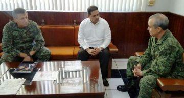 Hará frente común la CDHEC con la XX  Zona Militar para fortalecer los Derechos Humanos