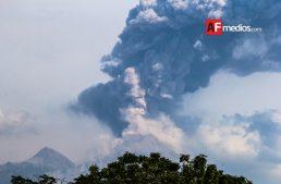 No hay estado de alerta por actividad del Volcán de Colima: 'Nacho'