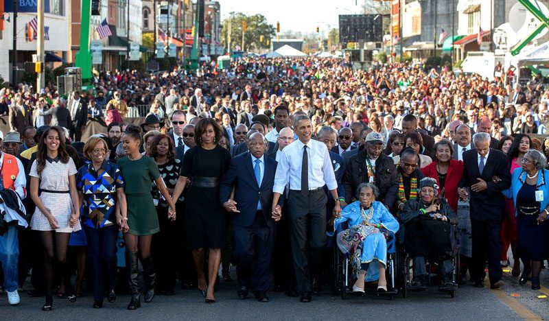 Última foto de Barack Obama en twitter de Casa Blanca