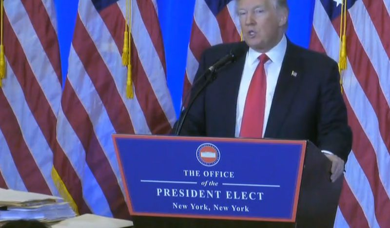 Trump agradece a empresas mantener sus inversiones en EU