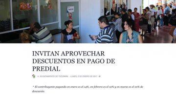Juicio político por no aplicar descuentos correctos en pago anticipado de predial: Santiago Chávez