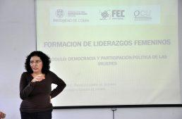 """""""Necesitamos más mujeres decidiendo por  México, por Colima"""": Lourdes Pacheco"""