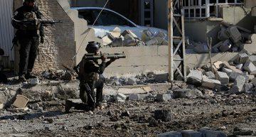 Fuerzas iraquíes ingresan a distrito de Mosul en enfrentamientos con Estado Islámico