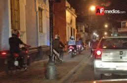 Vialidad de Colima pide a motociclistas de rodadas nocturnas respetar reglamento