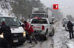 En alerta amarilla por nevadas en 8 municipios de Chihuahua