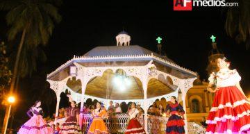 Presentación de candidatas en Villa de Álvarez