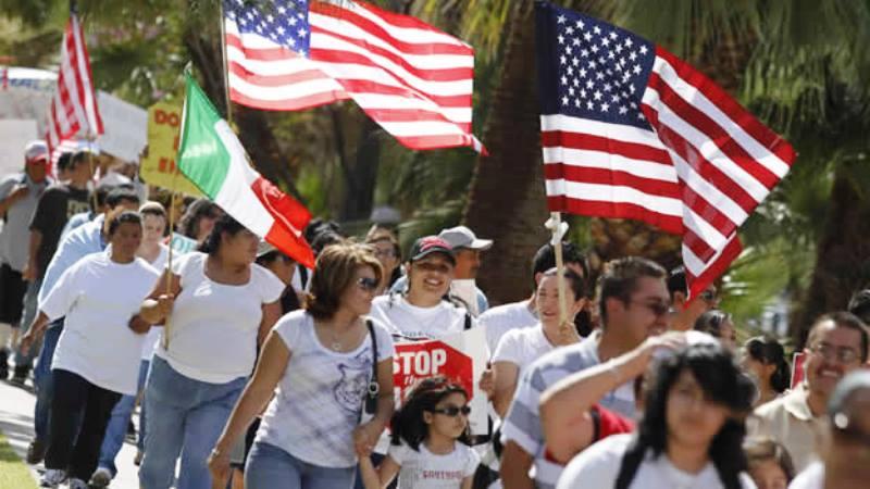 """""""Un día sin inmigrantes"""" en Estados Unidos"""