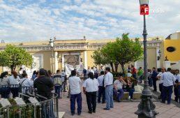 Sindicato de Telefonistas se manifesta contra el 'gasolinazo'