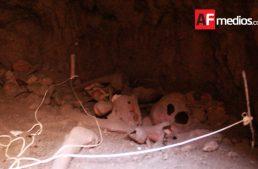 Encuentran tumba de tiro en Colima con restos óseos del año 300 d.C.