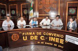 """La UdeC """"es una universidad de excelencia  ampliamente reconocida por su calidad"""": INEE"""