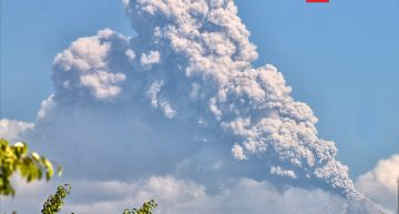 Otra explosión volcánica