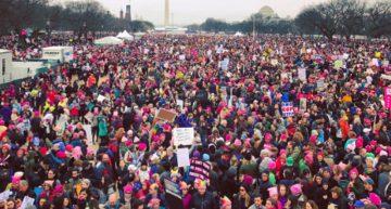 Miles de mujeres marchan en Washington contra Trump