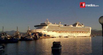 Crucero Grand Princess concreta su tercer visita a Manzanillo este 2017