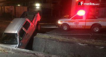 Accidente en la madrugada deja 6 lesionados y un fallecido en Colima