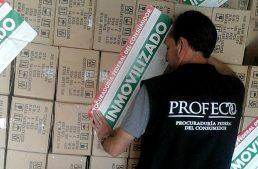 En Manzanillo, Profeco y SAT inmovilizan 287 mil focos apócrifos
