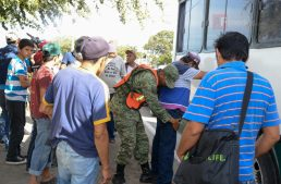 Policía Militar reporta saldo de 223 detenidos en el municipio de Tecomán