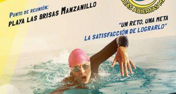 Circuito de Aguas Abiertas Manzanillo 2017 el próximo 6 de mayo