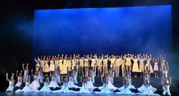 Conquista Ballet Folclórico de la  UdeC el Teatro Universitario