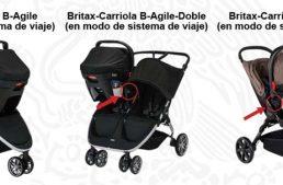 Profeco, EU y Canadá emiten alerta por posibles riesgos en carriola para bebés