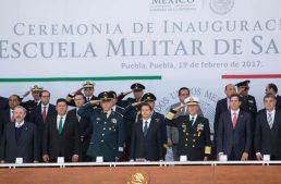 Gobernador reconoce esfuerzo cotidiano de las fuerzas castrenses