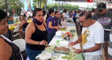 Más de 800 personas participaron en la VIII Feria del Pescado en Barra de Navidad