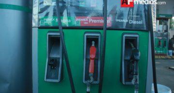 Gasolinas bajan un centavo en Colima para este 15