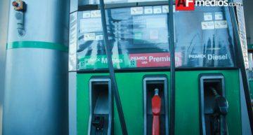 Gasolinas sin variación de precio, Diésel baja dos centavos este fin de semana