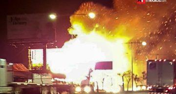 Incendio dejó en cenizas restaurante de mariscos en Zapopan Jalisco
