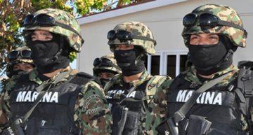 Marina realiza cateos y detenciones en Manzanillo y Tecomán