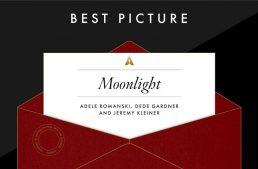 Error al anunciar Oscar de mejor película