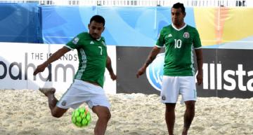'Tri' de Playa avanzó a los Cuartos de Final de pre mundial