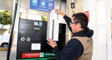 SAT, PGR, Profeco y Pemex verifican gasolineras del país