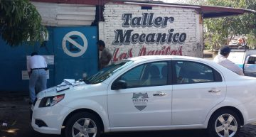 Clausurado, taller mecánico que contaminó suelo con aceite en 'La Villa'