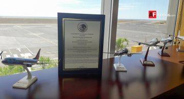 Aeropuerto de Manzanillo obtiene certificación de Seguridad Operacional