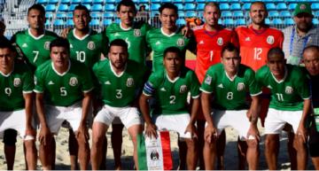 'Tri' de playa enfrentará hoy a Canadá, ayer goleó 9-2 a Guadalupe
