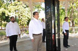 Fortalece Universidad de Colima valores cívicos: Rector