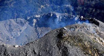 UEPCBJ realiza sobrevuelo de observación en el Volcán de Colima