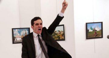 Asesino del embajador ruso, imagen ganadora del World Press