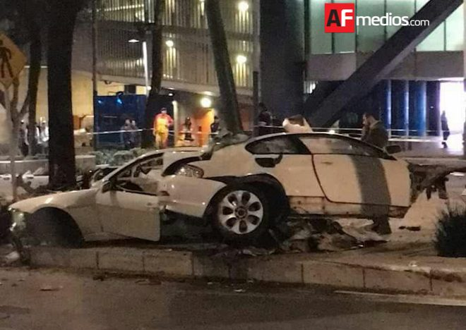 Trasladan al Reclusorio Sur al conductor del accidente en Reforma
