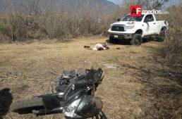 Balacera en Jocotepec entre policías y delincuentes deja 5 muertos