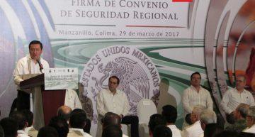 Colima, Jalisco, Michoacán y Guanajuato se unen contra la delincuencia
