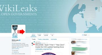 WikiLeaks publica supuestos documentos de la CIA