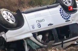 Accidente con saldo de cuatro muertos en Lagos de Moreno, Jalisco
