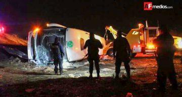 Accidente de autobús en La Piedad, Michoacán deja 21 lesionados