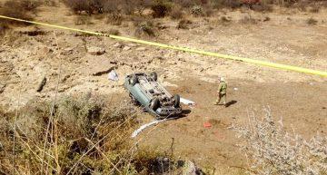 Tres muertos y siete heridos, saldo de accidente en San Miguel el Alto, Jalisco