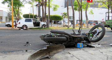 Motociclistas representan 21% de mortalidad por accidentes: Salud
