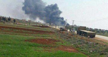 Cae avión cerca de frontera turco-siria