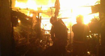 Incendio en La Oriental