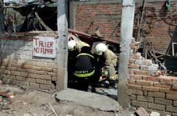 Explosión en polvorín de Tuxpan deja una persona fallecida