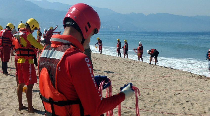 Curso de rescate acuático